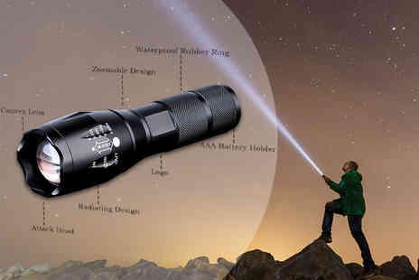 Object Products - Military style torch - Save 84%