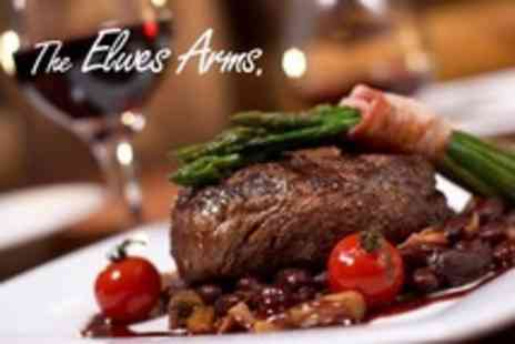 The Elwes Arms - Two Course a la Carte Meal For Two With Glass of Wine Each - Save 55%
