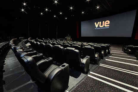 Vue - £20 for five 2D movie tickets at Standard Vue locations - Save 41%