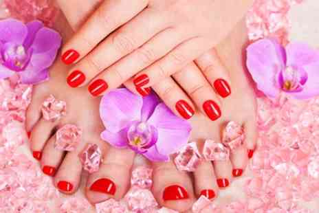 Santa Rosa Beauty - Gel Manicure, Gel Pedicure or Both - Save 55%