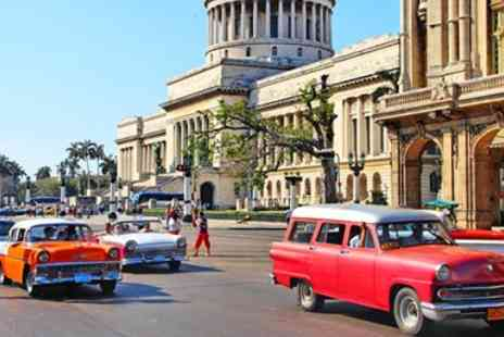 The Holiday Place - Ten night Cuba tour with flights & deluxe all inclusive hotel stay - Save 0%