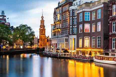 Crystal Travel - Two or three night 4 Star Amsterdam city break and return flights - Save 37%