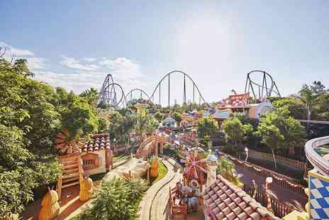Weekender Breaks - Three or five night 4 Star half board PortAventura, Spain hotel stay with unlimited park entry, one time Ferrari Land entry, return flights and more - Save 28%