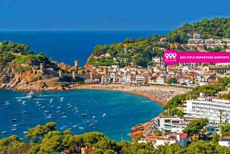 Weekender Breaks - Three, five or seven night all inclusive Costa Brava beach holiday with return flights - Save 46%