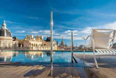 Ohla Barcelona - Five Star Contemporary Hotel Stay For Two with Michelin Star Restaurant - Save 51%