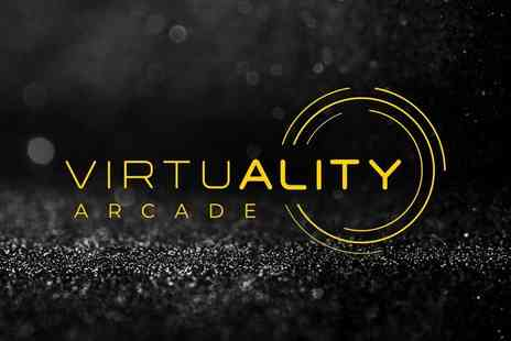 Virtuality Arcade - One hour VR experience for four - Save 50%