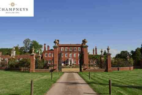 Champneys Henlow - Champneys Henlow, Spa Day with Lunch, Choice of Treatment and Thalassotherapy Pool Session - Save 44%