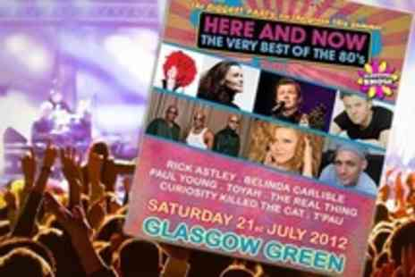 CK Concerts and Events - Best of the 80s: One (£17), Two (£33), Four (£65) or Six (£96) Tickets to Here and Now (Up to 60% Off) - Save 57%