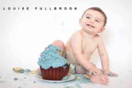 Louise Fullbrook - First Birthday Smash Photo Shoot with 5x7 Print - Save 71%