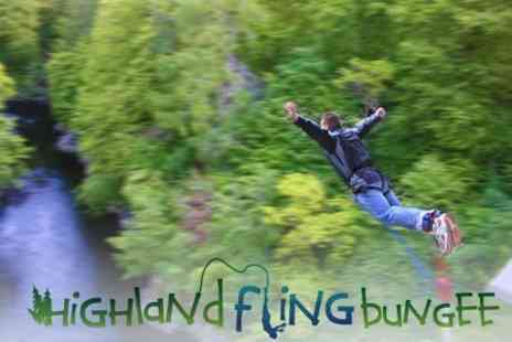 Highland Fling Bungee - Bungee Jump - Save 60%