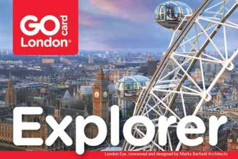 Smart Destinations London Explorer Pass - London Explorer Pass - Save 5%