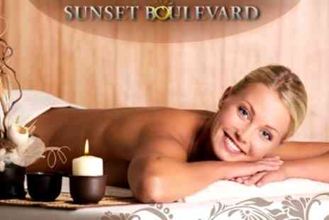 Sunset Boulevard - Massage, Fish Spa, Mini Mani and Mini Pedi - Save 64%