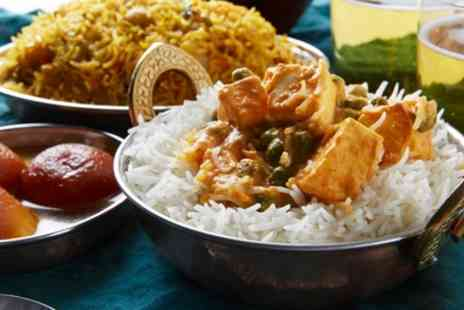 Solo Restaurant - Two Course Indian Meal for Two or Four - Save 43%