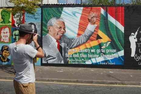 Belfast Attractions - Belfast Mural Political Black Cab Tour - Save 0%