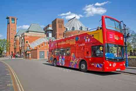 City Sightseeing - City Sightseeing Stratford upon Avon Hop On Hop Off Tour - Save 0%