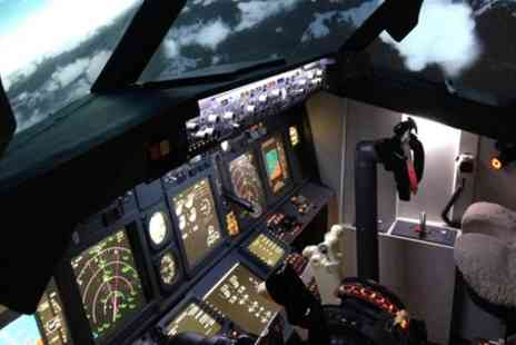 Jetsim Centre - 30 or 60 Minute Flight Simulator Experience for One or Two - Save 42%