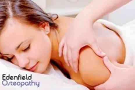 Edenfield Osteopathy - Two Treatments of Edenfield Osteopathy and Initial Consultation - Save 72%