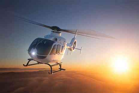 Phoenix Helicopter Academy - 10 minute helicopter buzz flight and cream tea - Save 6%