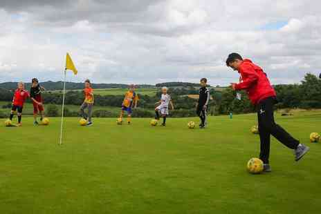 Ballers and Hackers - Nine hole foot golf for two - Save 60%
