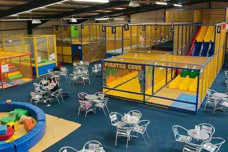 Pirates Cove Soft Play Centre - Four childrens passes to Pirates Cove Soft Play Centre, Jarrow - Save 65%