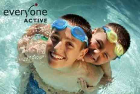 Everyone Active - Childrens One Week Swimming Course - Save 60%