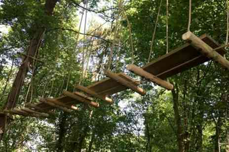 Arial Trail - High Rope Course Experience for Up to Three - Save 38%