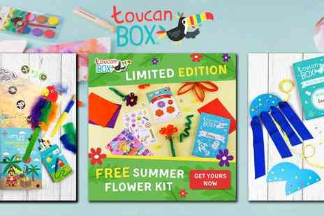toucanBox - Crafting, Creativity and Learning Delivered - Save 83%