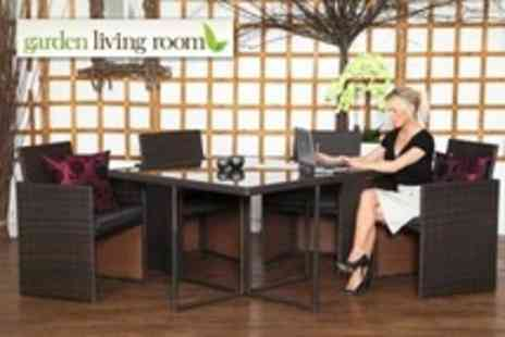 Garden Living Room - Rattan Furniture Cube Set - Save 56%
