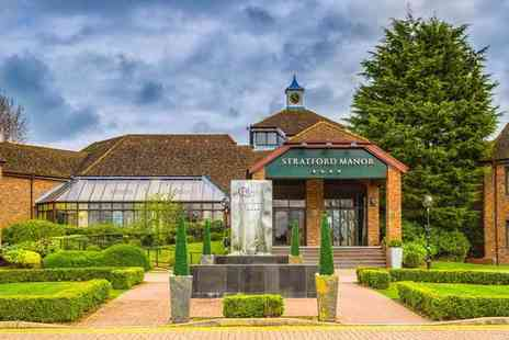 Stratford Manor - Four Star Two Espa treatments and Prosecco cream tea for one person - Save 56%