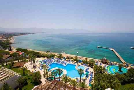 Tour Center - Seven night all inclusive Turkey break with return flights - Save 54%