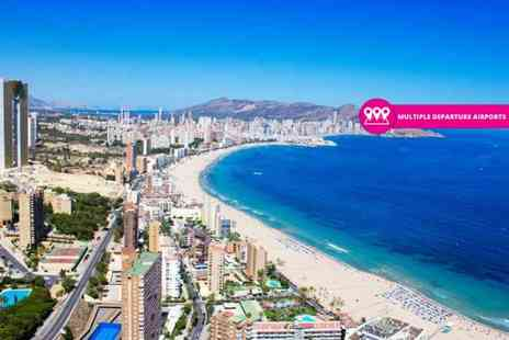 Weekender Breaks - Tree nights full board Benidorm break with return flights - Save 31%