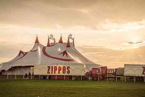 Zippos Circus - Side view ticket to Zippos Circus with popcorn - Save 39%