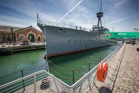 HMS Caroline - Concession ticket to HMS Caroline or adult ticket explore the must see floating historic museum - Save 23%