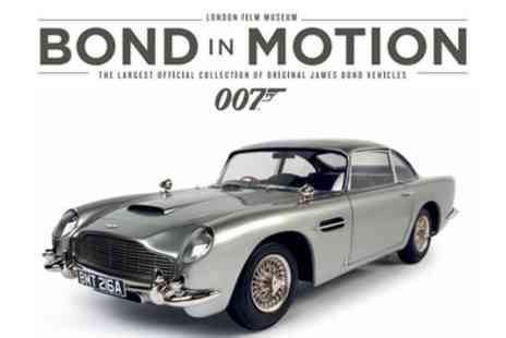 London Film Museum - Bond In Motion on 26 July to 7 September - Save 50%