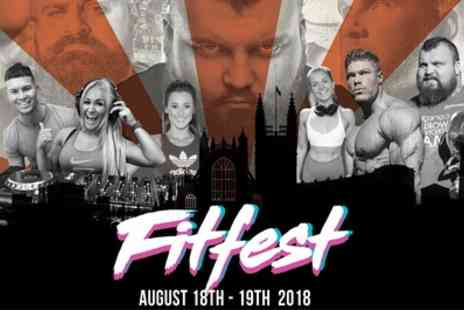 The Fit Festival - Ticket to Fit Festival 2018 on 18 to 19 August - Save 29%