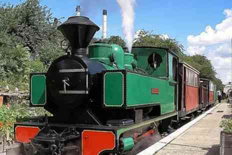 Sittingbourne and Kemsley Light Railway - Historical Train Ride for Two Adults or Family of Six - Save 32%