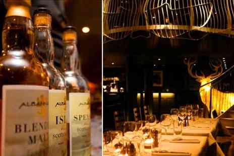 Dramatic Whisky - Whisky tasting evening, 90 minute tasting with an international whiskey expert in the West End - Save 75%