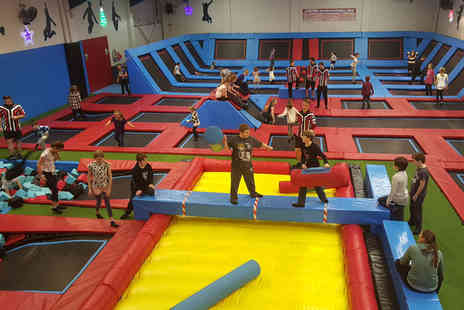 Boing Zone Trampoline Park - One hour trampolining session - Save 50%