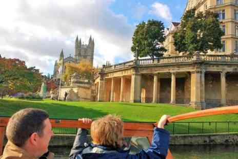 River Adventures Limited - Small Group 80 minute Bath Walking Tour and Avon River Cruise - Save 0%