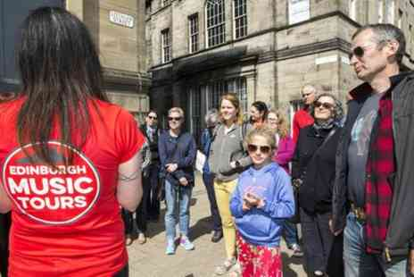 Glasgow Music City Tours - Edinburghs Greatest Hits, The Story of the Capitals Music - Save 0%
