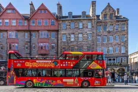 City Sightseeing - Edinburgh Shore Excursion City Sightseeing Hop On Hop Off Tour - Save 0%