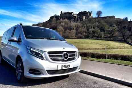 Aura Journeys Central Scotland - Stirling Day Tour & Sightseeing, Luxury Private Chauffeur - Save 0%