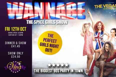 VIVA Blackpool - Wannabe The Spice Girls Show - Save 0%