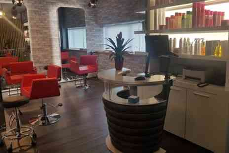 Yulo Hairdressing - Wash, Cut and Blow Dry with Optional Half or Full Head of Highlights - Save 68%