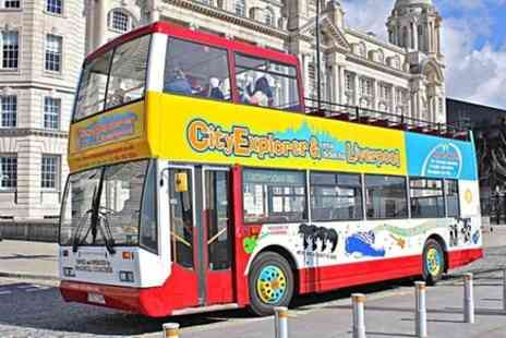 Mersey Ferries - Liverpool Do The Double, River Cruise and Open Top City Sightseeing Bus Tour Combination Ticket - Save 0%