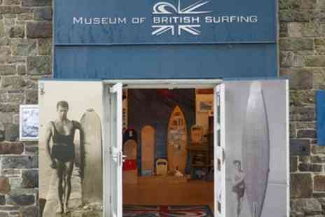 Museum of British Surfing - Entry for Two Plus Gift Poster or Annual Access for One to Museum of British Surfing - Save 50%