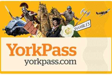 Make It York - The York Pass Including Hop On Hop Off Tour - Save 0%