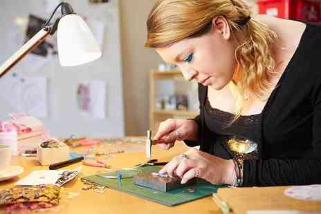 Hiraeth Creative - One day silversmithing workshop for one person - Save 66%