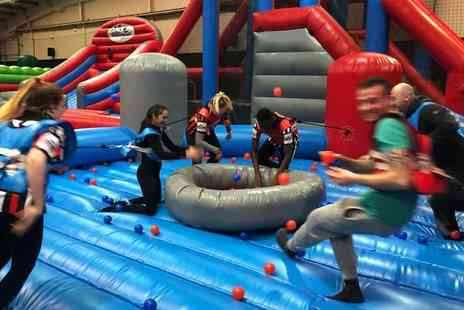 Inflatable Zone - Entry for one person to Inflatable Zone with a micro slushie to finish - Save 43%
