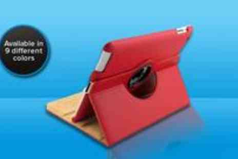 Gadgets n Gears - Stylish rotating leather case for your iPad 2 or 3 - Save 76%